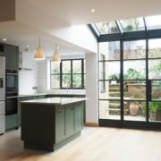 Rear extension and flat conversion